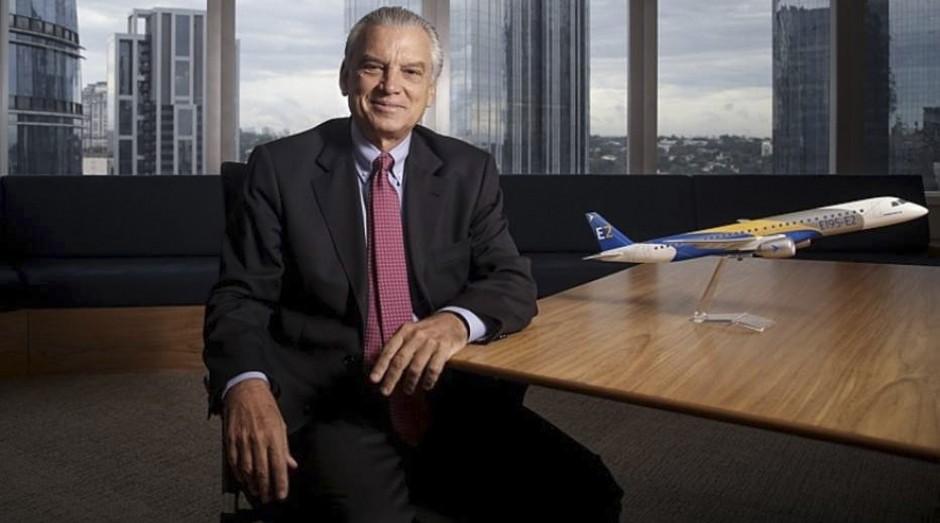 Paulo Cesar de Souza e Silva, presidente da Embraer: Setor sofre menos com instabilidade, diz Silva  (Foto: Estadão Conteúdo)