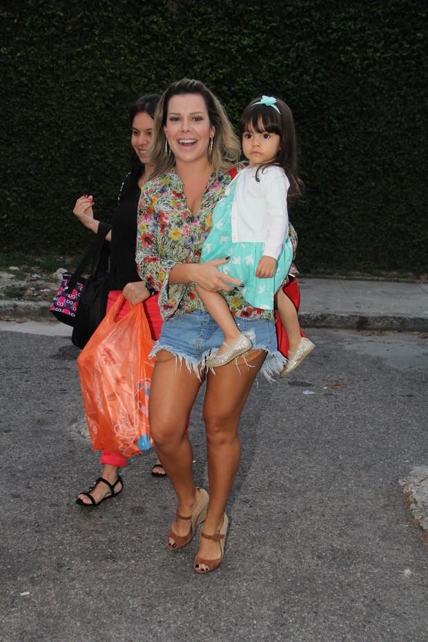 Fernanda Souza no aniversário da Eva Filha do Luciano Huck e Angélica (Foto: Dilson Silva e Rodrigo dos Anjos / AgNews)