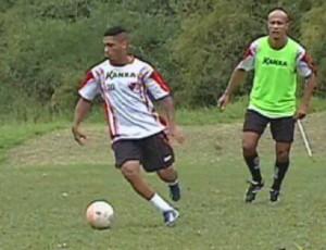 Emerson atacante Oeste Itápolis Palmeiras (Foto: Reprodução / TV TEM)