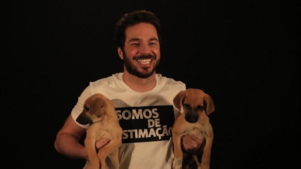 Conrado Caputo (Foto: ONG Estimação / Divulgação)