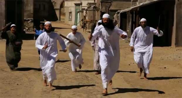 Cena de 'A inocência dos muçulmanos' (Foto: Reprodução/Youtube)