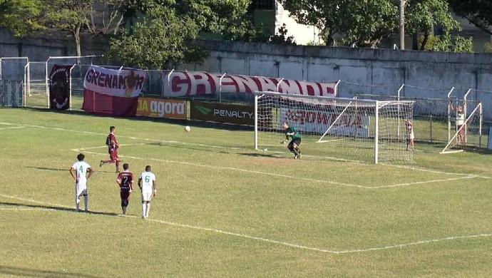Cavadinha de David, da Desportiva Ferroviária (Foto: Reprodução/TV Gazeta)