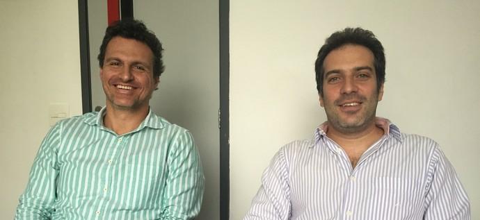 Spindel e Orlean evitam projeções, mas esperam aumento de receitas (Foto: Raphael Zarko)