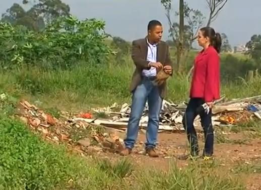 Diário Ecologia - Lixo (Foto: Reprodução / TV Diário)