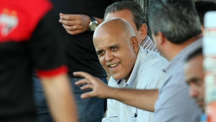 Maurício Sampaio, presidente do Atlético-GO (Foto: O Popular)