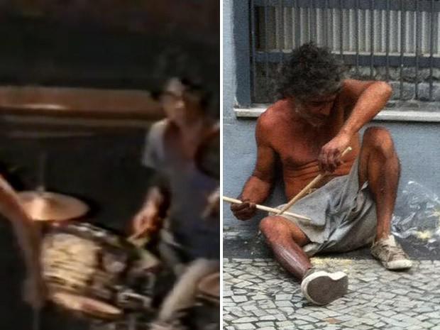 NOTÍCIA – Ex-baterista vira morador de rua suspeito de agressão em Niterói Homem passou por tratamentos psiquiátricos e mora na rua. Segundo músicos da região, Wigberto tocou com Celso Blues Boy e Tim Maia.