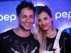 Rainer Cadete vai ao Rock in Rio com namorada e mostra novo visual