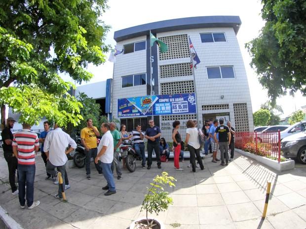 Sinpol suspendeu greve (Foto: Aldo Carneiro/Pernambuco Press)