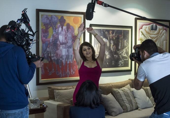 Drica Moraes vive uma personagem desequilibrada em 'Justiça' (Foto: Globo/Estevam Avellar)
