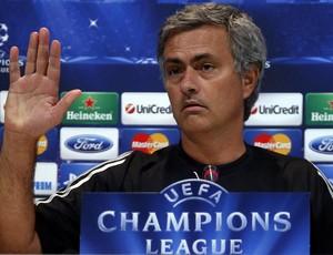 josé mourinho real madrid coletiva (Foto: Agência Reuters)