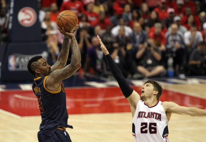 JR Smith cavaliers x hawks finais nba playoffs leste (Foto: Reuters)