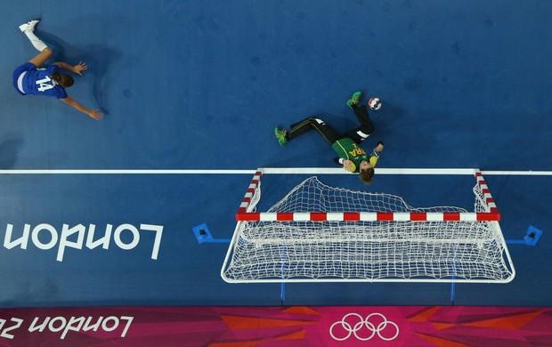 Handebol Chana Brasil x Croácia Londres (Foto: Getty Images)