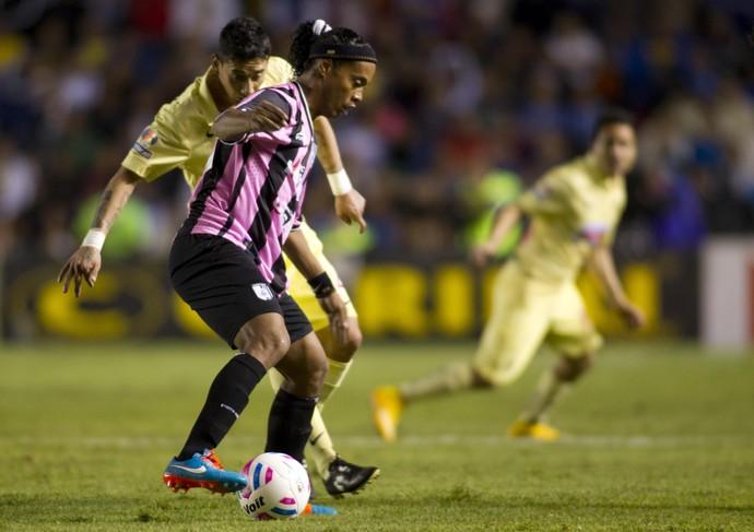 Ronaldinho Gaúcho, Querétaro x América-MEX (Foto: Getty)