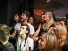 Bruno Gagliasso e Giovanna Ewbank se empolgam na noite carioca