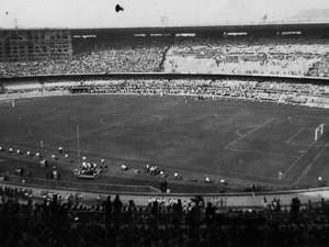 Maracanã foi palco da final da Copa do Mundo em 1950 (Foto: Divugação / Suderj)