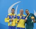 Rivais de Andre Brasil voam, e furacão ucraniano já soma 12 ouros na piscina