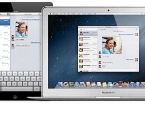 'Mountain Lion' traz o iMessage para o Mac; usuários podem trocar mensagens gratuitas pelo computador e iPad (Foto: Divulgação)