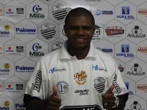 Willian Simões chega ao Comercial (Foto: Divulgação/Comercial FC)