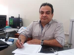 Raimundo Vasquez, chefe de gabinete da Seed (Foto: Abinoan Santiago/G1)