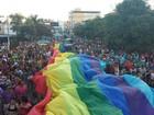 Parada LGBT em Divinópolis aborda 'Mais amor, menos preconceito'