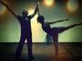 Fernanda de Freitas celebra boa forma com mais de 10 anos de balé e dança com Thiago Soares
