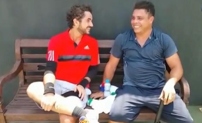 Ronaldo e Andreoli (Foto: Reprodução/SporTV)