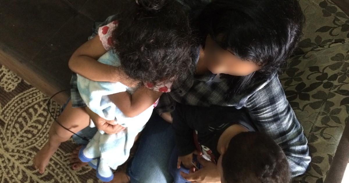 'Agora tem provas', diz mãe que filmou marido batendo na filha de 3 anos