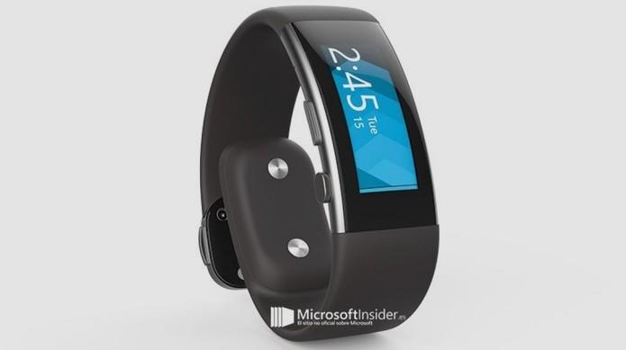 Microsoft Band 2 terá design mais ergonômico e atraente para usuários (Foto: Reprodução/Microsoft Insider)