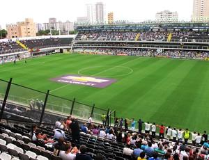 estádio Vila Belmiro jogo Santos (Foto: Marcelo Hazan)