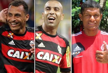 Montagem Flamengo 2 (Foto: GloboEsporte.com)