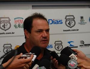 Vica, técnico do Treze (Foto: Silas Batista / Globoesporte.com/pb)