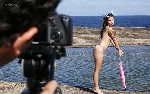 Making of Lola Benvenutti  (Foto: Alexandre Campbell/ Paparazzo)