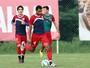 Reforçado por Willians Santana, elenco tricolor treina antes de viagem ao Pará