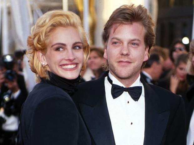 Julia Roberts e Kiefer Sutherland (Foto: Divulgação)