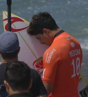 Gabriel Medina Trestles primeira fase surfe (Foto: Reprodução/WSL)