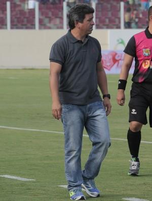Guidon, técnico do Socorrense (Foto: Osmar Rios/GloboEsporte.com)