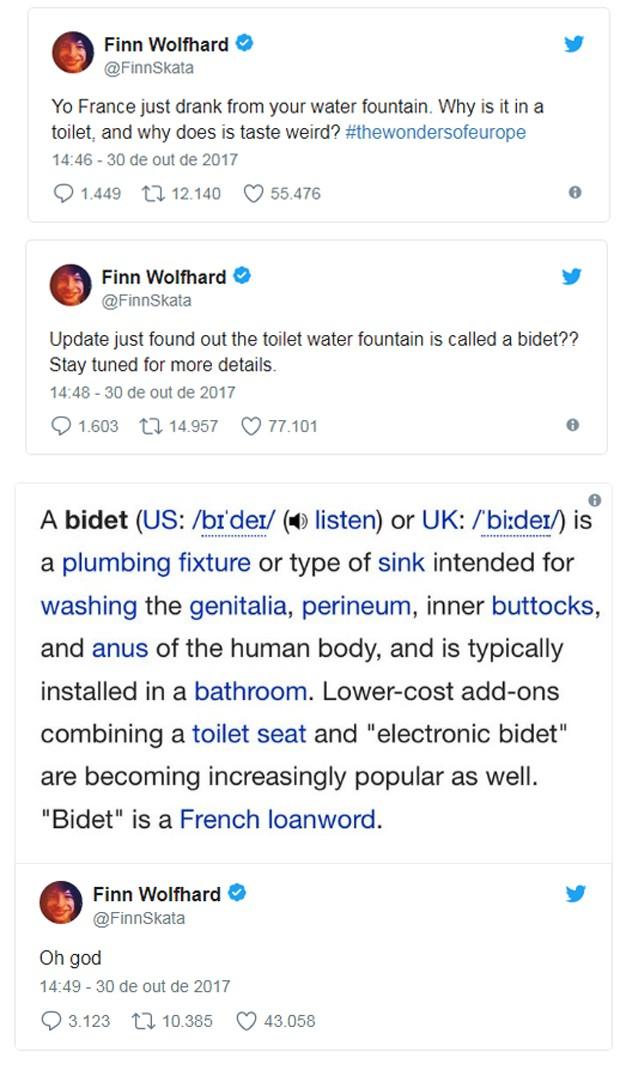 Finn Wolfhard (Foto: Reprodução/Twitter)