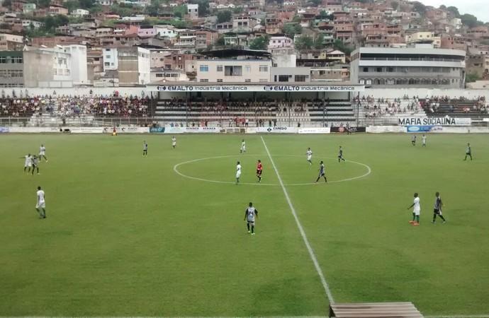Social vira o jogo contra o Ipatinga (Foto: Marcos Guimarães/ InterTV dos Vales)
