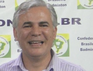 Franklin Keill, presidente da Federação Paraibana de Badminton (Foto: Divulgação)