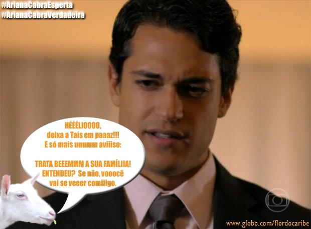 Hélio (Foto: Flor do Caribe/TV Globo)