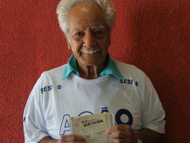 Bernardino Paes participou todas as edições da Ação Global  (Foto: Divulgação/Alessandra de Paula)