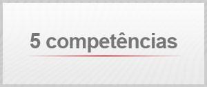 Dicas para a redação no Enem: conheça as cinco competências (Foto: Arte/G1)