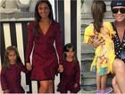 Mãe de gêmeas, Giovanna Antonelli diz: 'Adoro brincar de moda com elas'