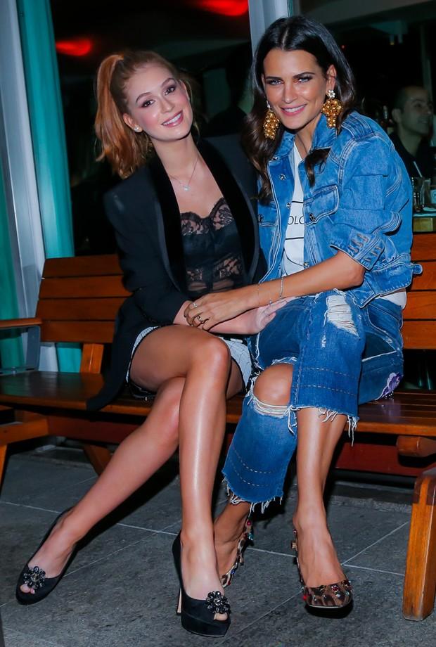 Marina Ruy Barbosa e Fernanda Motta (Foto: Manuela Scarpa/Brazil News)