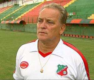 João Vallim, técnico do Velo Clube (Foto: Reginaldo dos Santos/EPTV)