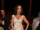 Luiza Brunet curte evento de moda em Belo Horizonte
