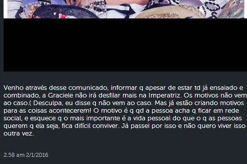 Zezé Di Camargo informa que Graciele está fora do carnaval (Foto: Reprodução/Instagram)