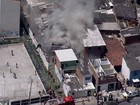 Incêndio atinge depósito de material reciclável na Zona Norte do Recife
