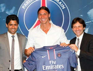 Al-Khelaifi presidente Ibrahimovic Leonardo Paris Saint-Germain (Foto: Getty Images)