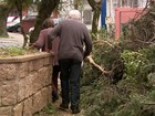 Sobe para 131 o número de cidades atingidas pela chuva no RS